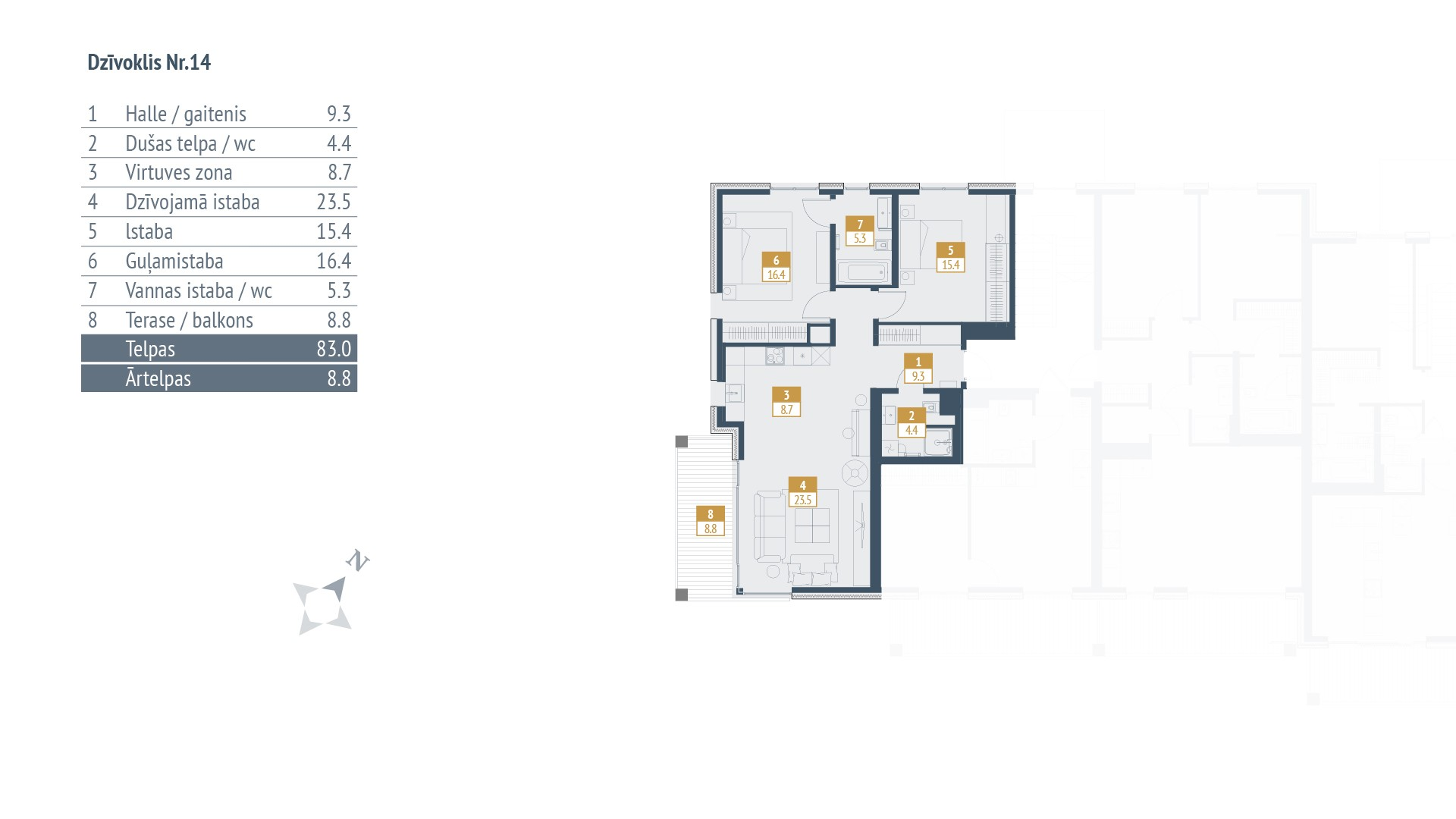 Dzīvokļa plāns