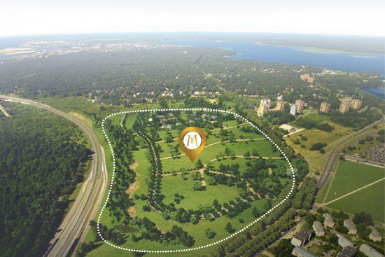 """Pabeigta elitāra dzīvojamā kompleksa """"Mežaparka Rezidences'' pirmā kārta, investējot 18 miljonus eiro."""