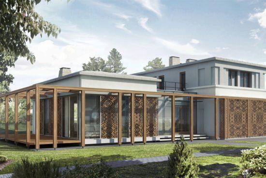 ''Mežaparka Rezidencēs'' tiek likti pamati trīs latviešu arhitektu projektētām villām