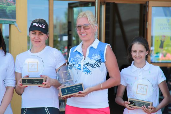The second annual golf tournament Mežaparka Rezidences Open draws 100 participants
