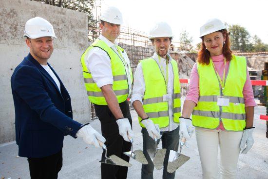 """Заложена памятная капсула в основание нового офисного здания в проекте """"Mežaparka Rezidences"""""""