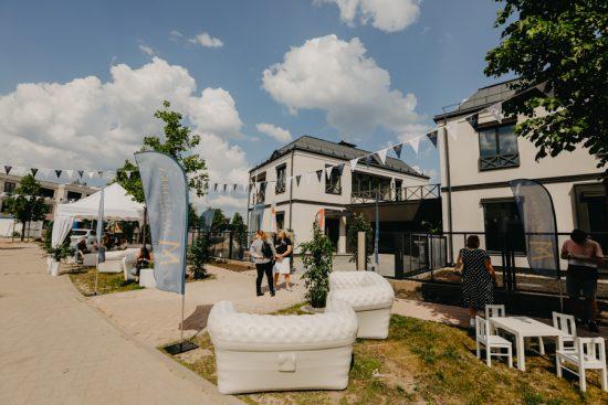 Projektā Mežaparka Rezidences aizvadīta pirmā Klientu diena
